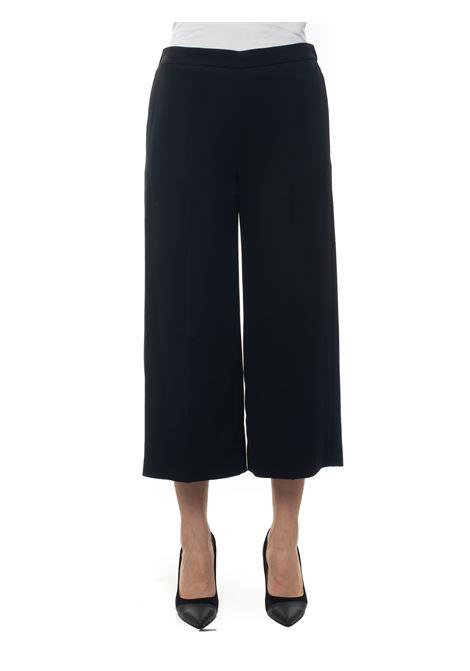 Soft trousers in cady Blue Les Copains | 9 | 0J30116131