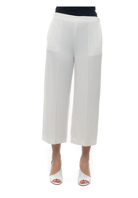 Soft trousers in cady Blue Les Copains | 9 | 0J30116201