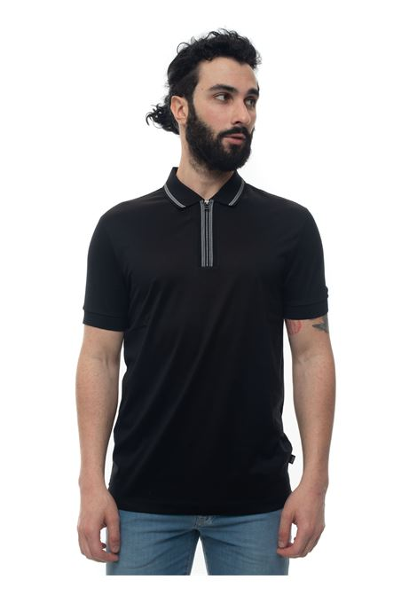 Short sleeve polo shirt with half zip BOSS | 2 | PARAS04-50423869001