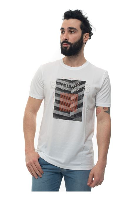 T-shirt girocollo mezza manica BOSS | 8 | TIBURT166-50427851100