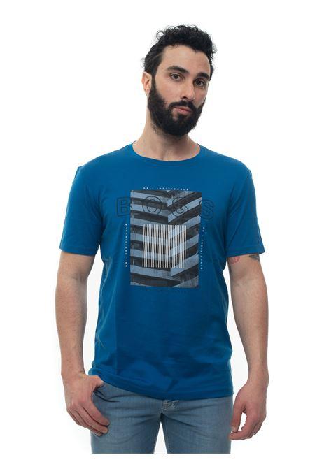 Short-sleeved round-necked T-shirt BOSS | 8 | TIBURT166-50427851426