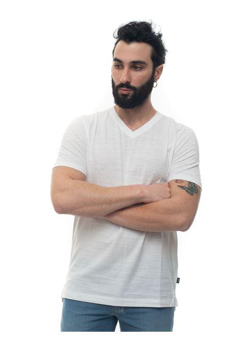 V-necked t-shirt BOSS   8   TILSON100-50402620100