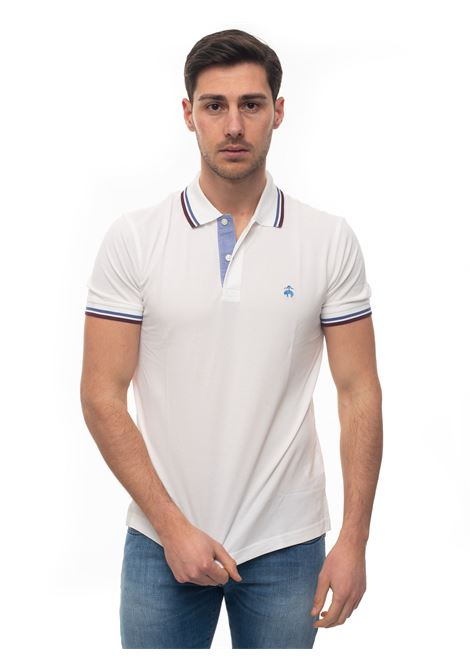 Short sleeve polo shirt Brooks Brothers | 2 | 100137003BIANCO