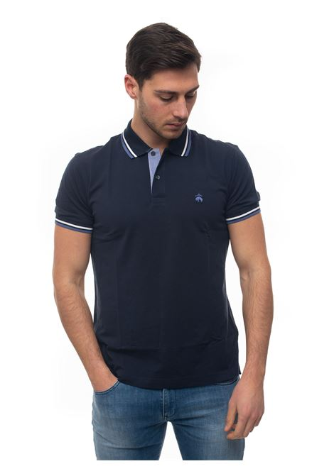 Short sleeve polo shirt Brooks Brothers | 2 | 100142425BLU