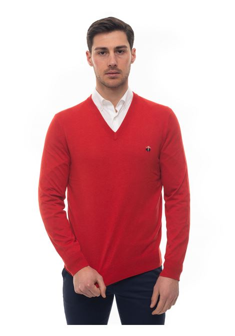 V-neck pullover Brooks Brothers | 7 | 100159934ROSSO