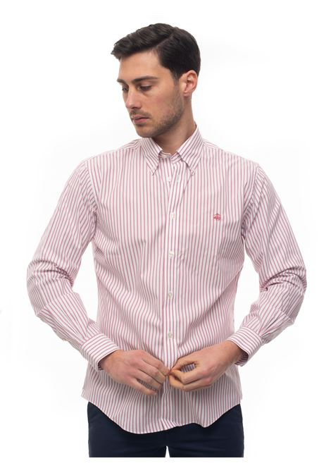 Casual shirt Brooks Brothers | 6 | 100159943BIANCOROSSO