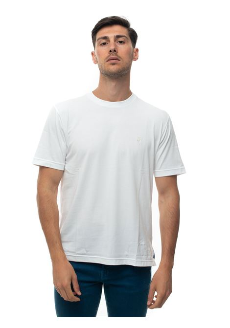 Short-sleeved round-necked T-shirt Brooks Brothers | 8 | 100162150BIANCO
