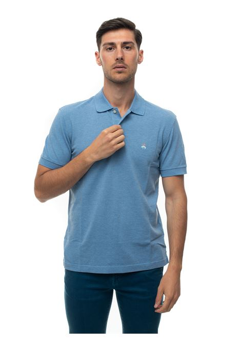 Short sleeve polo shirt Brooks Brothers | 2 | 100174333AZZURRO