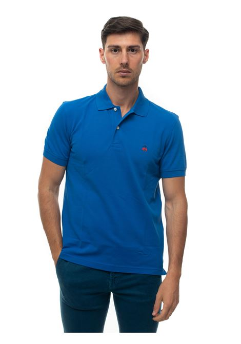Short sleeve polo shirt Brooks Brothers | 2 | 100174338BLU SCURO