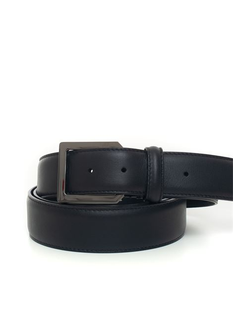 Buckle belt with logo detail Canali | 20000041 | 50-KA00261110