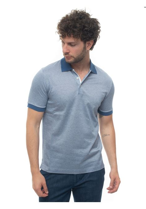 Short sleeve polo shirt Canali | 2 | T0566-MJ00883300