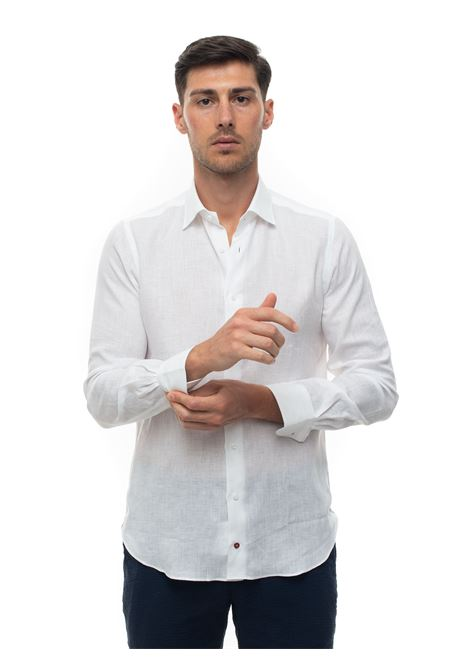 Long-sleeved linen shirt Carrel | 6 | 416-68371