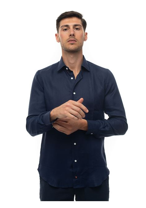 Long-sleeved linen shirt Carrel | 6 | 416-68375