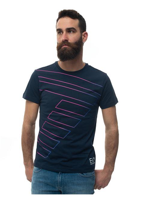 T-shirt girocollo mezza manica EA7 | 8 | 3HPT53-PJV5Z1554