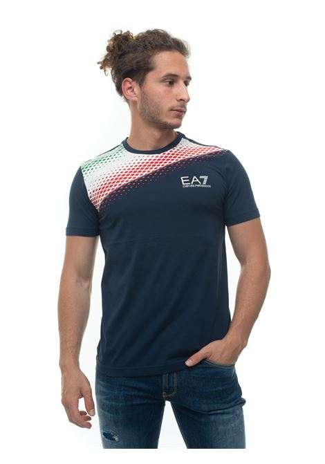 Short-sleeved round-necked T-shirt EA7 | 8 | 3HPT68-PJ02Z1554