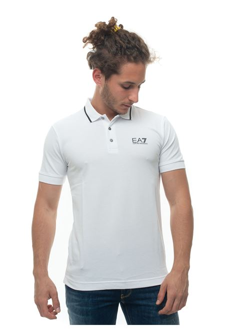 Short sleeve polo shirt EA7 | 2 | 8NPF06-PJ04Z1100