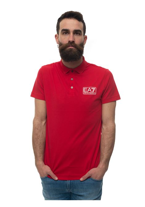 Polo shirt in jersey cotton EA7 | 2 | 8NPF12-PJNQZ1450