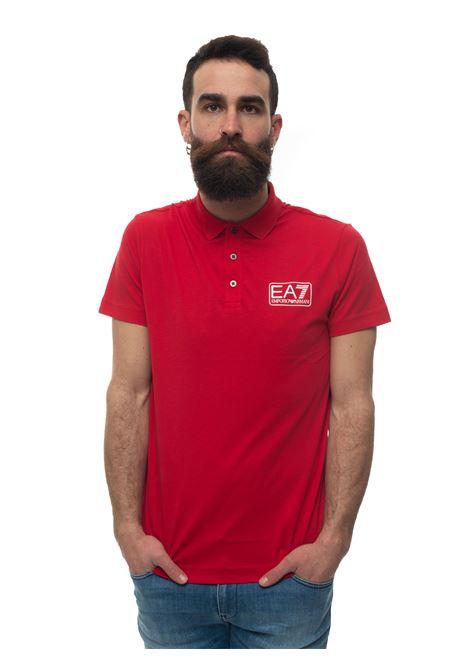 Polo in jersey di cotone EA7 | 2 | 8NPF12-PJNQZ1450
