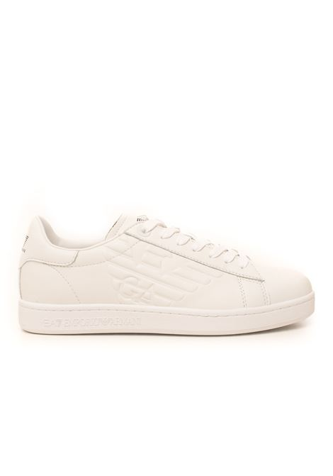 Leather sneakers with laces EA7 | 5032317 | X8X001-XCC5100001