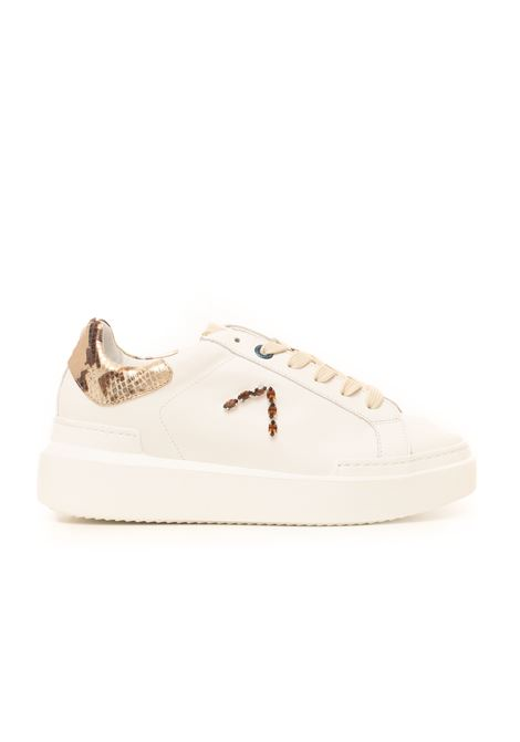 Sarah Sneakers with laces Ed Parrish | 5032317 | CKLD-ST23BIANCO