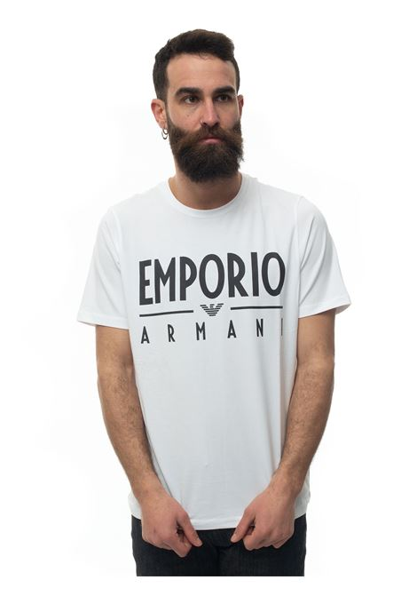 Short-sleeved round-necked T-shirt Emporio Armani | 8 | 3H1T90-1J0AZ0100