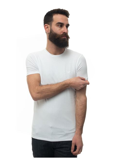 Short-sleeved round-necked T-shirt Emporio Armani | 8 | 8N1T80-1J0AZ0100