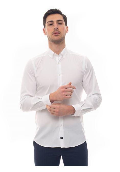 Camicia casual Fay | 6 | NCMA140258S-ORMB001