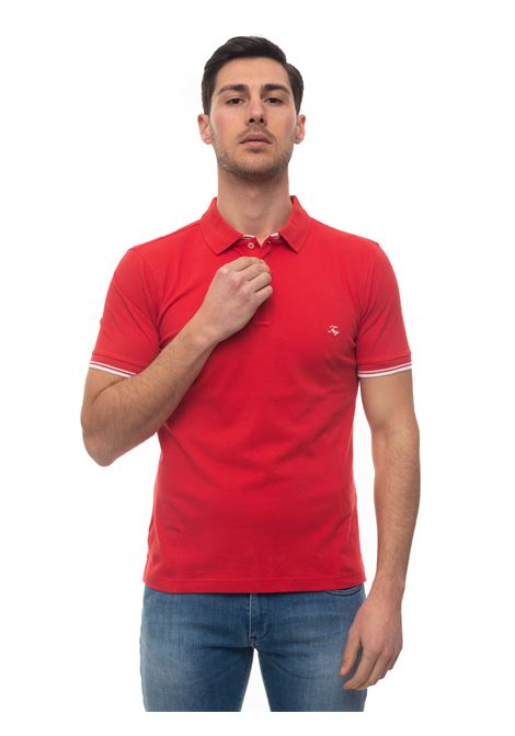 Short sleeve polo shirt Fay | 2 | NPMB240134S-ITOR005