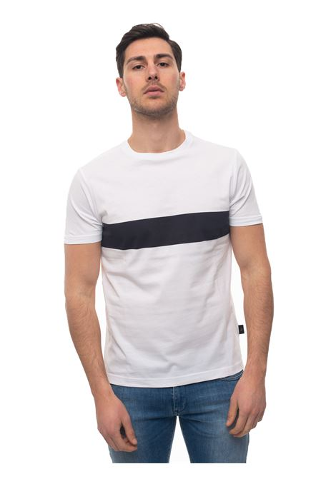 Round-necked T-shirt Fay | 8 | NPMB3401230-QXU0106