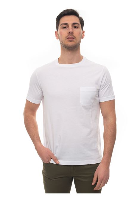 Short-sleeved round-necked T-shirt Fay | 8 | NPMB3401330-PKUB001
