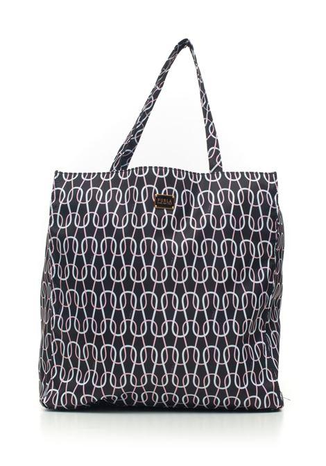 Digit Shopping bag Furla | 31 | DIGIT-BADU-W54P11-NERO+TALCO+ROSA