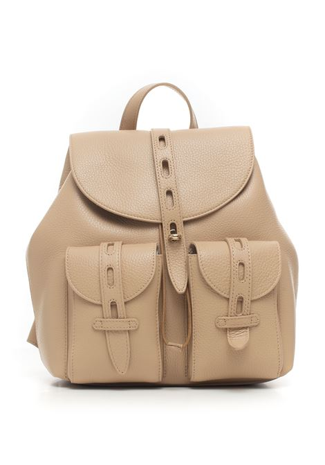 Furlanet Leather rucksack Furla | 5032307 | NET-BACW-HSF02B-SAND