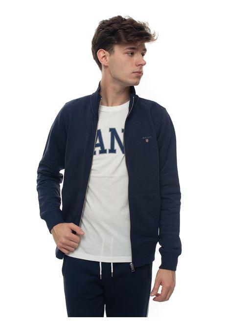 Sweatshirt with zip Gant | 20000055 | 2046015433