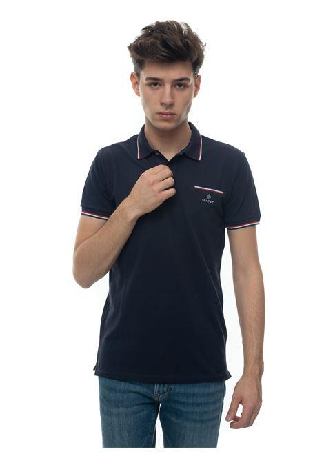 Polo con taschino Gant   2   2052002433