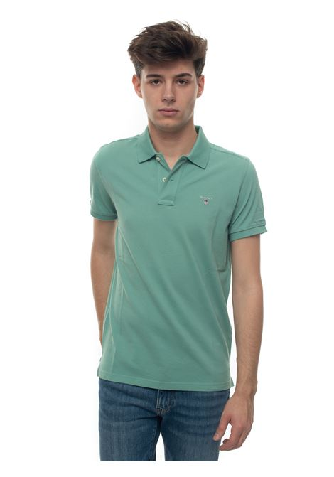 Polo shirt in cotton piquet Gant | 2 | 002201351