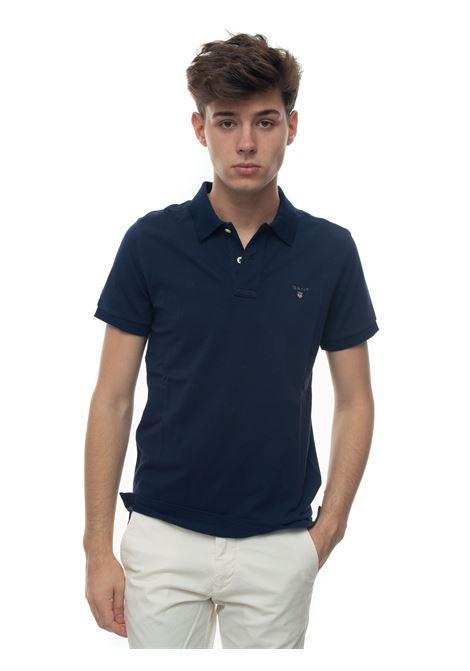 Polo shirt in cotton piquet Gant | 2 | 002201433