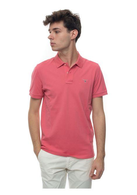 Polo shirt in cotton piquet Gant   2   002201665