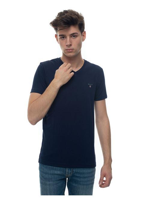 V-necked t-shirt Gant | 8 | 234104433