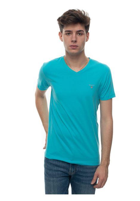 V-necked t-shirt Gant | 8 | 234104456
