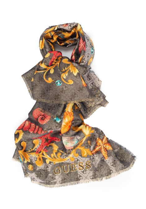 Scarf Guess | 77 | AW8442-VIS03BLA