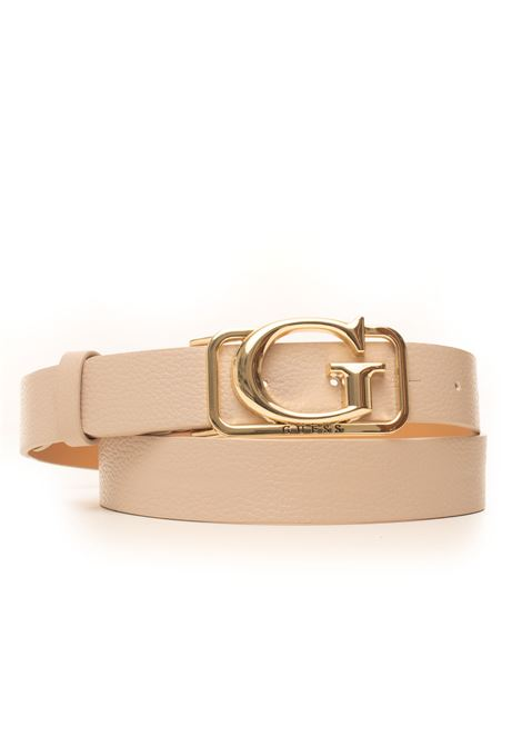 Adjustble buckle belt with logo detail Guess | 20000041 | BW7288-P0130TAU