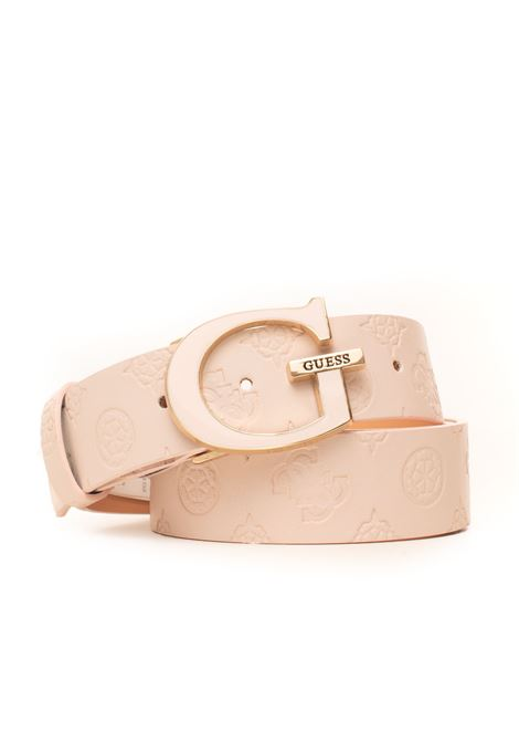Logo love buckle belt with logo detail Guess | 20000041 | BW7307-VIN35BLS