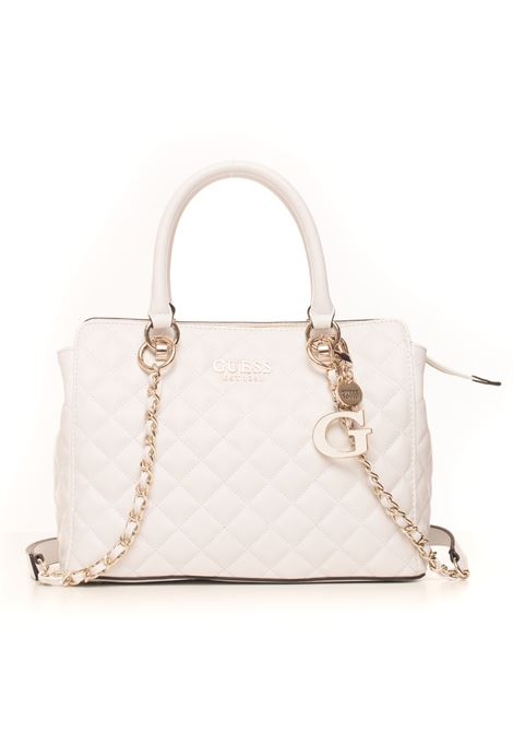Melise Tail bag with double grips Guess | 31 | HWVG76-67060WHI
