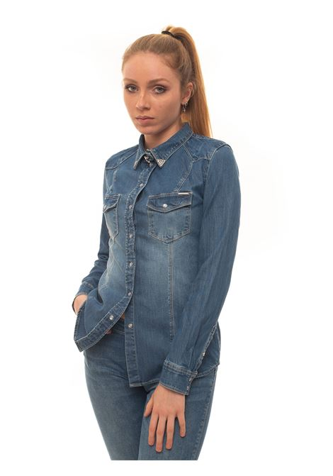 Camicia da donna in jeans CAMICIA DENIM STRASS Guess | 6 | W01H11-D3YR1LIBC