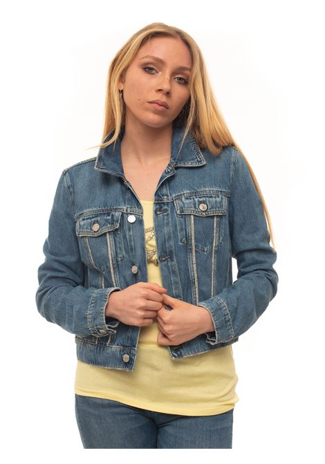 Denim harrington jacket Guess | -276790253 | W01N01-D3IL3BISB