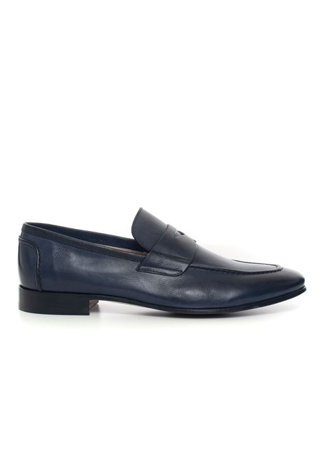 Mocassino in pelle Jerold Wilton | 12 | 590-442BLU SCURO