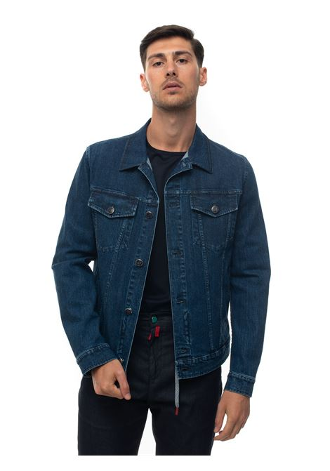 Denim harrington jacket Kiton | -276790253 | UW0672A-V07S661