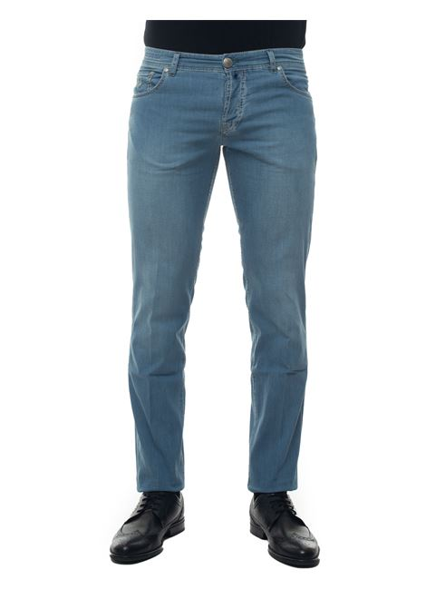 Caracciolo 5 pocket denim Jeans Luigi Borrelli | 24 | CARACCIOLO-TJ504DENIM