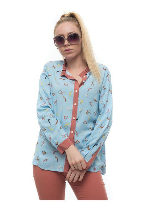 Camicia da donna fantasia  ECRU Pennyblack | 6 | ECRU-3535