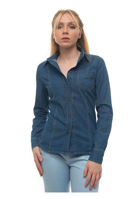 EFFIMERO Denim blouse Pennyblack | 6 | EFFIMERO-3021